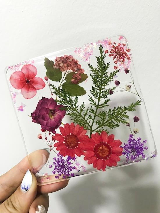 Flower Resin DIY