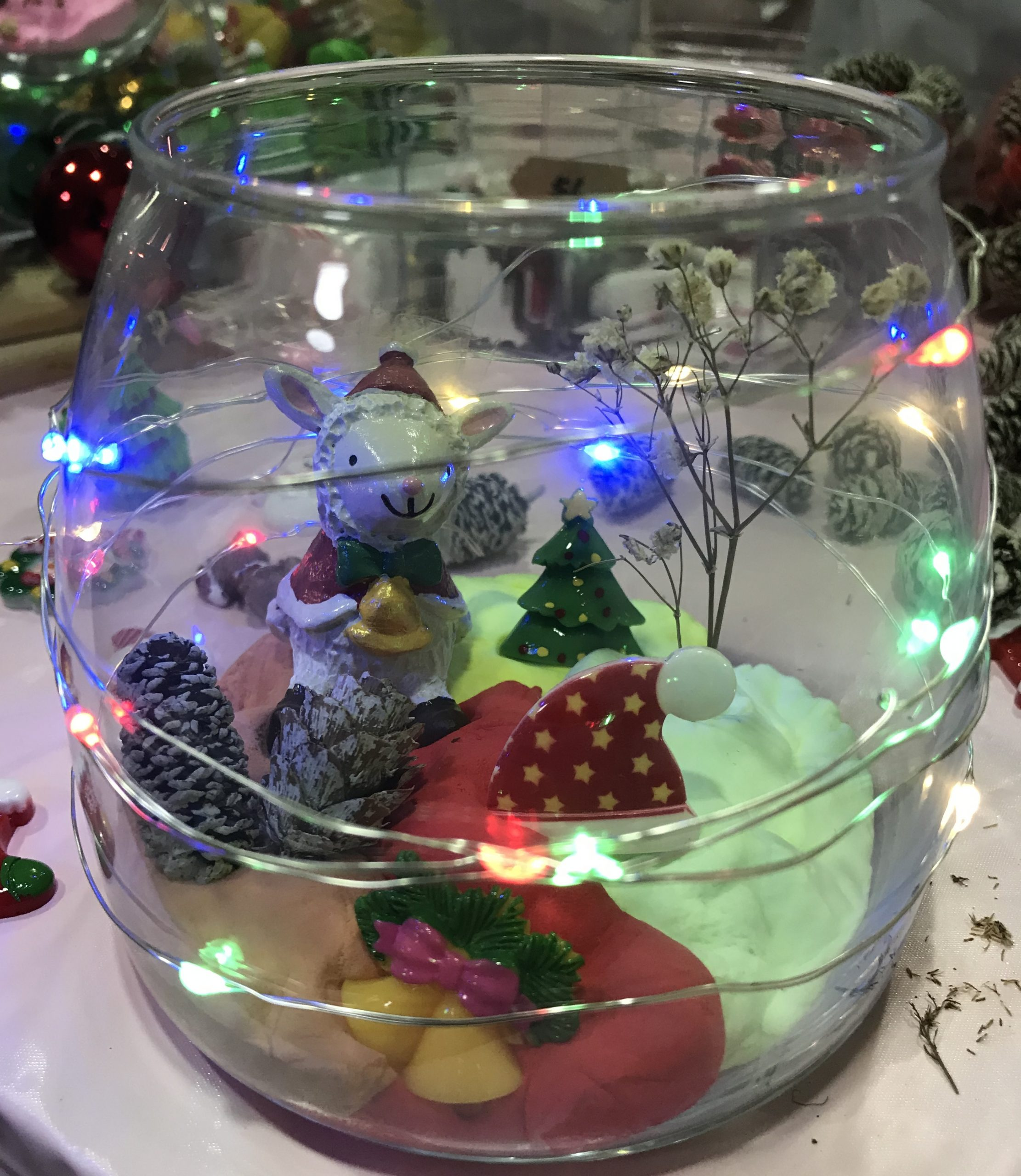 christmas glass workshop